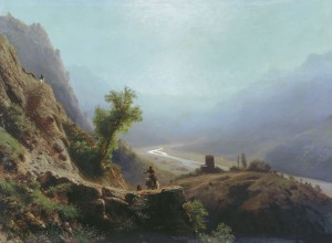 On the Caucasus Mountains, Lev Lagorio, 1879