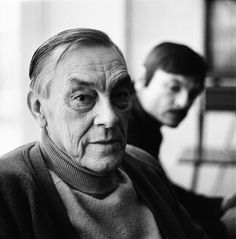 Arseny Tarkovsky (with Andrei in the background)