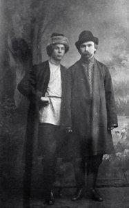 sergei-yesenin-and-nikolai-klyuyev-1916