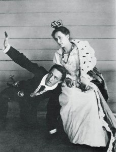 Blok at 18 in the role of Hamlet