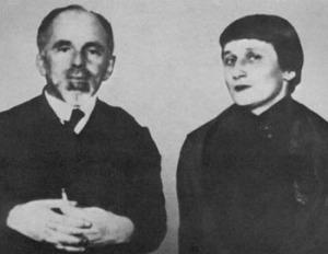 Mandelstam with Akhmatova