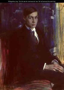Portrait of Boris Pasternak, A A Murashko, 1917