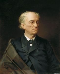 Portrait of Tyutchev by Stepan Alexandrovsky