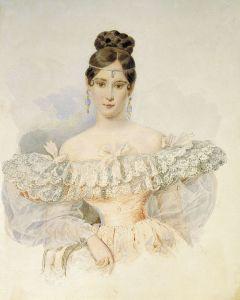 Natalia Pushkina, Alexander Brullov, 1831