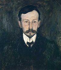 Portrait of Ivan Bunin, Leonard Turzhansky