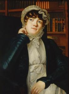 Portrait of Karolina Pavlova by Vasili Fyodorovich Binemann